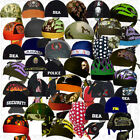 Motorcycle Black Biker Hat Do Bandana Mens Doo Rag Du Head Skull Cap Paisley