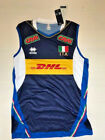 ERREA FIPAV DHL SHIRT AUTHENTIC VOLLEYBALL ITALY JERSEY MAN ITALY VOLLEYBALL /30