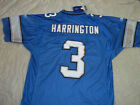 JOEY HARRINGTON #3 DETROIT LIONS RETRO NFL REEBOK LARGE STITCHED JSY FREE SHIP $79.99 USD on eBay