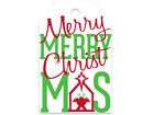 """Christmas Holiday Print GIFT TAGS 2-1/4"""" x 3-1/2"""" Choose Design & Package Amount"""
