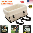 Pets Car Seat With Zipper Booster Safe Cars Travel Box Pets Dogs Carrier Storage