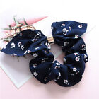 Women Adjustable Bow Knot Hair Rope Ring Tie Scrunchie Ponytail Holder Accessory