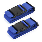 Best Clip Belts - 2pcs Adjustable Travel Luggage Suitcase Straps Baggage Backpack Review