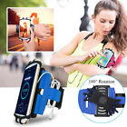 180° Rotation Sport Gym Running Jogging Armband Wrist Band Phone Case Cover Gift image