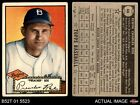 1952 Topps #66 Preacher Roe Dodgers GOOD
