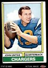 1974 Topps #150 Johnny Unitas Chargers VG/EX $14.5 USD on eBay