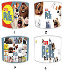 Secret Life Of Pets Lampshades, Ideal To Match Secret Life Of Pets Wall Decals.