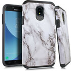 For Samsung Galaxy J3 Achieve HARD Hybrid Rubber Silicone Cover Phone Case