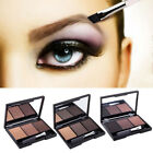 3Color Eyebrow Powder Eyebrow Liner Eye Shadow Punk Smoky Ma