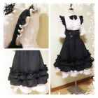 Final Fantasy XIV FF14 Miqote Maid Servant Uniform Dress Cosplay Costume Outfit