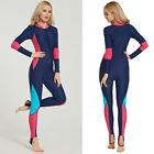 Women Full Body Sport Rash Guard Suit Swimming Snorkeling Diving Surfing Anti-UV
