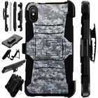 Lux-Guard For iPhone 6/7/8 PLUS/X/XR/XS Max Phone Case Cover DIGITAL CAMO GRAY