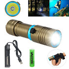 Внешний вид - Waterproof 10000LM XM-L2 LED Scuba Diving Flashlight Torch 18650 Camping Light L