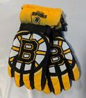 Boston Bruins Gloves Big Logo Gradient Insulated Winter NEW NHL Unisex S/M L/XL $17.95 USD on eBay