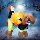 Dog Carry Pumpkin Costume Halloween Cat Pet Fancy Puppy Appa