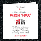 Personalised Card OK007 / Birthday Mothers Fathers Day Funny Joke / Gadgets £2.95 GBP on eBay