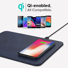 Qi Wireless Charger Fast Charging Pad Mat For Samsung S8 Note 8 iPhone X Google