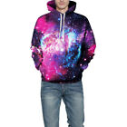 Men Women Cool 3D Hoodies Sweatshirt Hooded Tops Pullover Jumper Jacket Coat