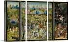 ARTCANVAS The Garden of Earthly Delights 1515 Canvas Art Print Hieronymus Bosch
