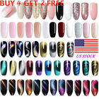 BORN PRETTY Multicolor UV Gel Nail Polish Set Topcoat Base Coat Gel Nails Tool