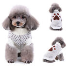 Pet Dog Puppy Clothes Coat Jacket Sweater Apparel Costume Winter Autumn Fall Kit