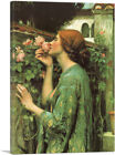 ARTCANVAS The Soul of the Rose 1908 Canvas Art Print by John William Waterhouse
