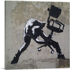 ARTCANVAS London Calling Canvas Art Print by Banksy