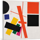 Suprematism - Nonobjective Composition Canvas Art Print by Kazimir Malevich