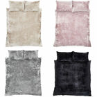 Catherine Lansfield Crushed Velvet Duvet Cover Set