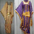 Performance CostumeBelly DanceSaidi GalabeyaEgyptian AbayaOriental Dress 560