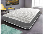 Cool Blue Memory Foam Mattress Pocket Sprung Bonnel Spring Matress 3ft 4ft6 5ft