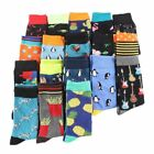 Men Women Cotton Sock Animal Shark Zebra Corn Sea Food Novelty Funny Dress Socks