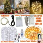Внешний вид - New 3M/5M/10M Copper Wire LED String Fairy Light for Christmas Xmas Party Decor