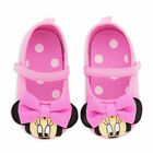 Disney Store Minnie Mouse 3D Pink Baby Costume Dress Shoes Ears 0 6 12 18 Months
