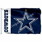 Dallas Cowboys Lone Star Wordmark Flag 3Ft X 5Ft Polyester Banner 90*150Cm on eBay