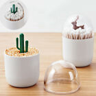 Elephanty Cotton Swab Holder, Small Q-tips Toothpicks Storage Organizer GIFT