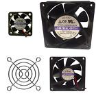 Heat Sink Cooling Fan JAMICON Axial PC Extractor Fan 5V-12V-24V-230V