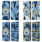 MAN CITY FC DIGITAL CAMOUFLAGE LEATHER BOOK WALLET CASE FOR BLACKBERRY ONEPLUS