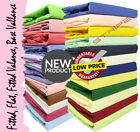 4Ft Small Double Bed Fitted Sheet 25 cm Deep Polycotton Plain Dyed 122 x 200 cm image