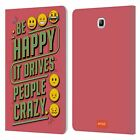 OFFICIAL emoji® MILLENIALS LEATHER BOOK WALLET CASE FOR SAMSUNG GALAXY TABLETS