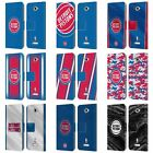 OFFICIAL NBA DETROIT PISTONS LEATHER BOOK WALLET CASE FOR SONY PHONES 2 on eBay