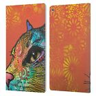 OFFICIAL DEAN RUSSO CATS 2 LEATHER BOOK WALLET CASE COVER FOR AMAZON FIRE