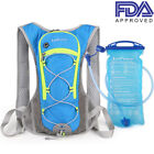 Cycling Bag Bike Backpack Water Bag Hiking Pouch Climbing Hydration with Bladder