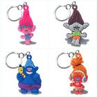 Trolls Poppy Cartoon PVC Pendant Keychain Key Ring Accessory Kids Toy Xmas Gift image