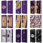 OFFICIAL NBA LOS ANGELES LAKERS LEATHER BOOK WALLET CASE COVER FOR LG PHONES 1 on eBay
