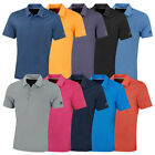 adidas Golf Mens Ultimate365 Solid Short Sleeve Stretch Polo Shirt Top