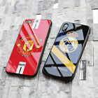 Real Madrid Cover Case Football Manchester United Soccer iPhone 6 6S Plus 7 8 X