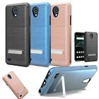 For AT&T AXIA Phone Case Brushed Hybrid Cover ARTILLERY STAND