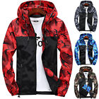 Mens Waterproof Hiking Jacket Coat Winter Ski Outdoor Sport Casual Hoodie Tops