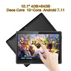 "10.1"" 7''Tablet PC 4+64G Android 7.11 Deca-Core WIFI 2 SIM Camera Phone Phablets"